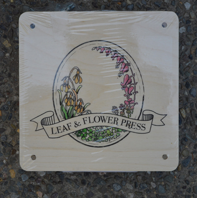 Small Leaf & Flower Press