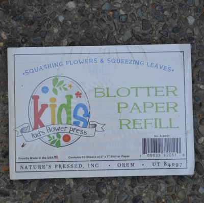 Leaf and Flower Press for Kids Refill