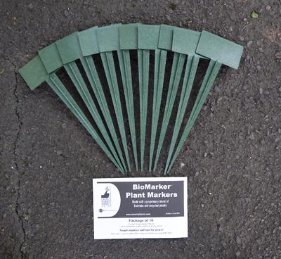 BioMarker Jumbo Plant Markers - Pack of 10