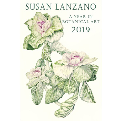 2019 Botanical Flower Wall Calendar by Susan Lanzano
