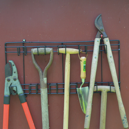 Metal Tool Rack - Small