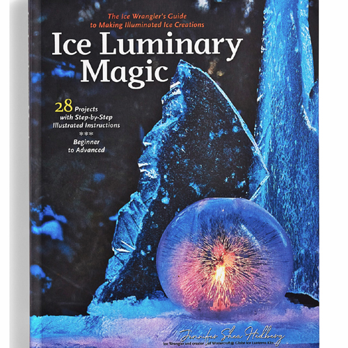 Ice Luminary Magic Book