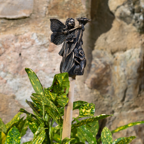 "Flower Fairy Cane Topper - ""Flora"""
