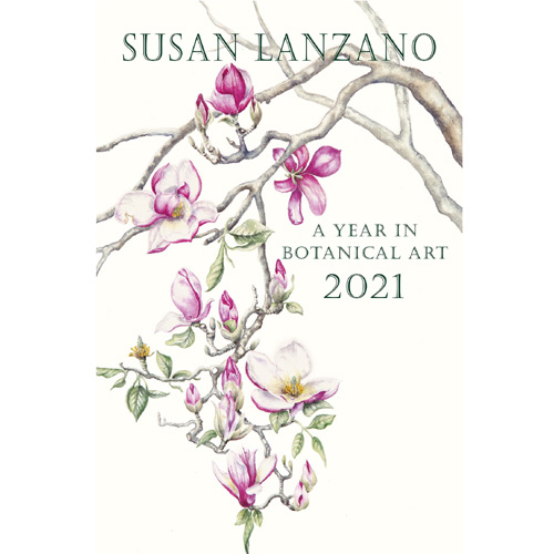 2021 Botanical Flower Wall Calendar by Susan Lanzano