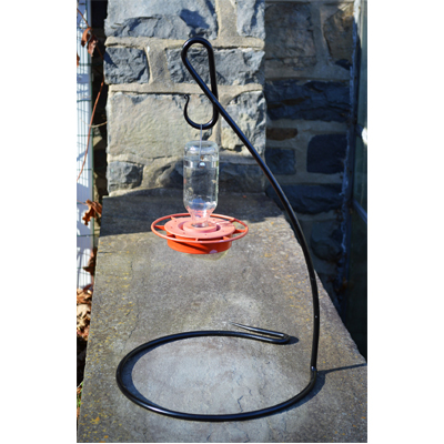 Hummingbird Feeder Stand/Small Down Under Pot Stand