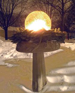 Ice Globe Lanterns