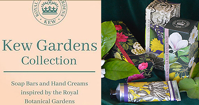 Kew Soaps & Hand Lotions