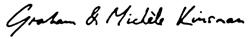 Graham and Michelle Signature