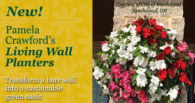 Pamela Crawford Living Wall Planters