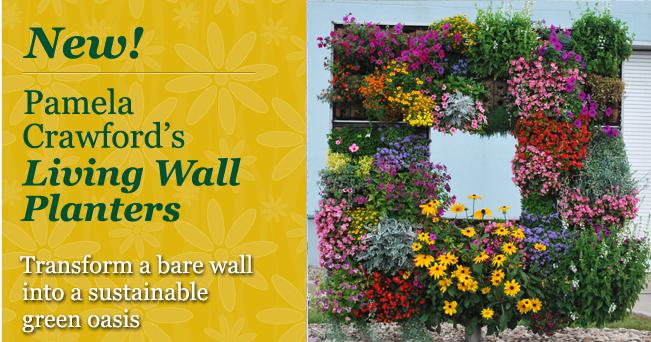 Pamela Crawford Living Wall Planters