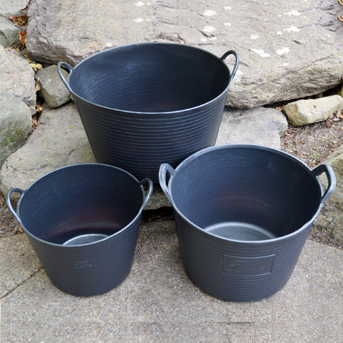 BLACK TRUG TUB