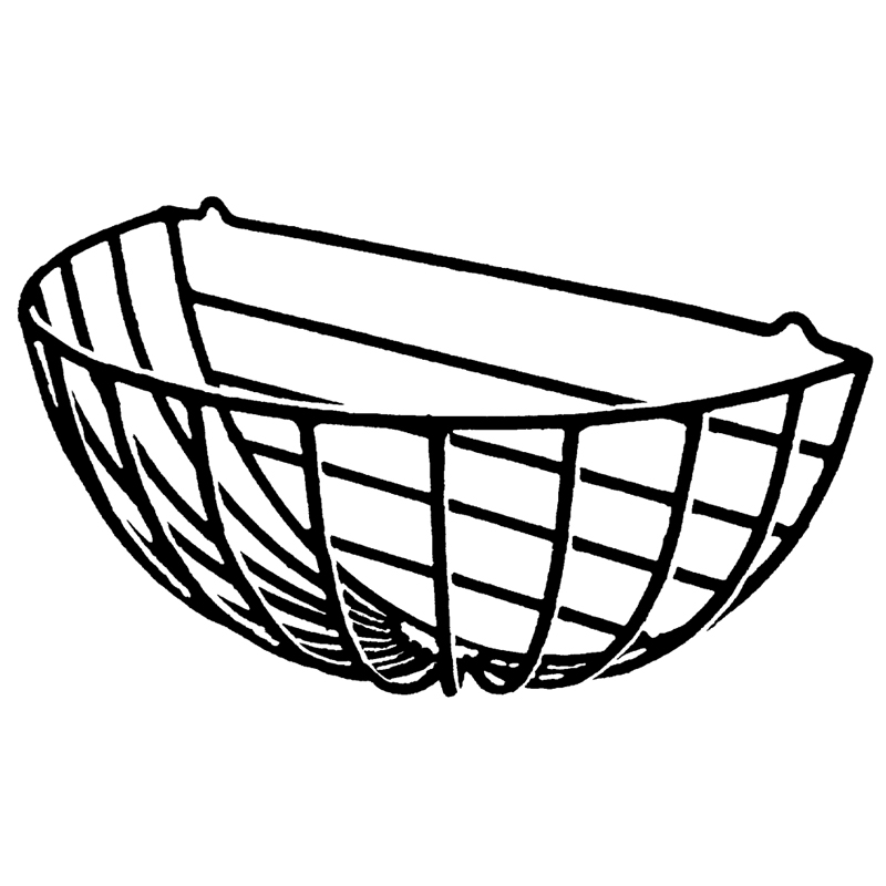 30 ROUND HAYRACK EURO CLASSIC (Liner Not Included)