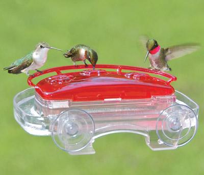 CASE/6 JEWEL BOX HUMMINGBIRD FEEDERS