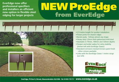 PROEDGE 5 - Flexible Steel Garden Edging - 5 x 8' - 5 SECTIONS