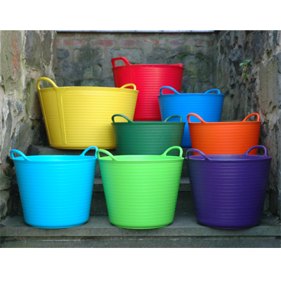 COLORFUL LARGE TRUG TUBS