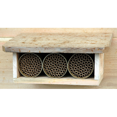 CEDAR SHELTER KIT WITH MASON BEE HOUSES (INCLUDED)