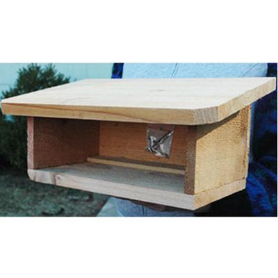 CS/2 - CEDAR SHELTER FOR MASON BEE HOUSES (EMPTY)