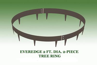 EVEREDGE 2 FT. DIA. 2-PIECE TREE RING
