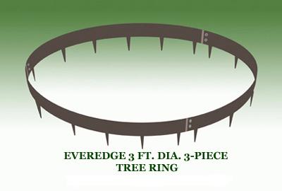 EVEREDGE 3 FT. DIA. 3-PIECE TREE RING