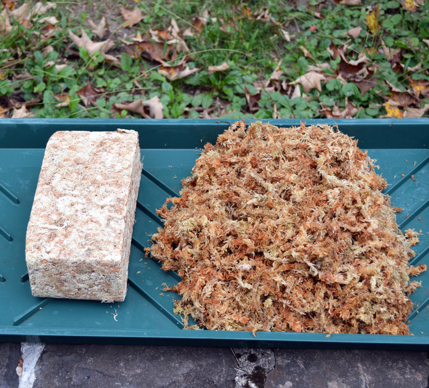 CS/6 - 1 KG OF COMPRESSED SPHAGNUM MOSS