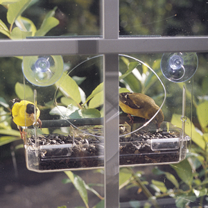 CS/5 3 SIDED WINDOW BIRD FEEDER