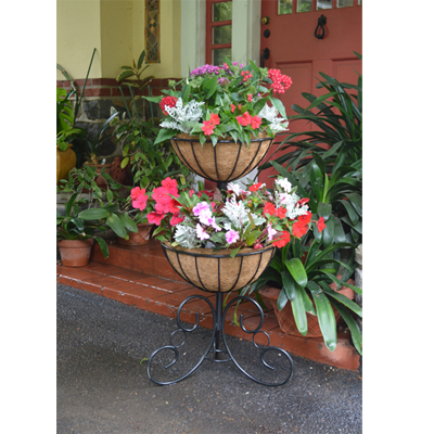 Two-Tier Planter and Liner Set