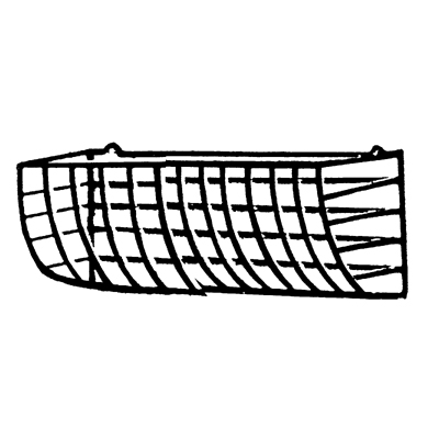 Middle Section for Expandable Hayrack (KC26) w/Molded Liner