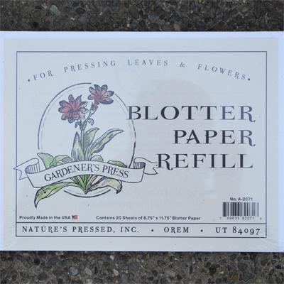 CS/12 - Gardener's Press Refill - 20 Sheets per pack