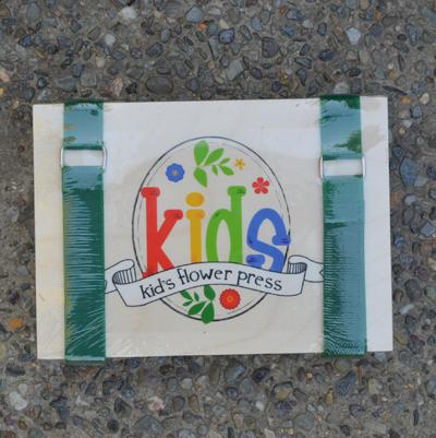 CS/6 - Leaf & Flower Press for Kids - 5 x 7