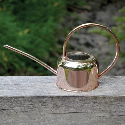 CS/4 - Copper-Plated Stainless Steel Watering Can