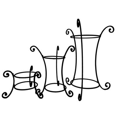 Basket Display Stand Without Basket - Medium