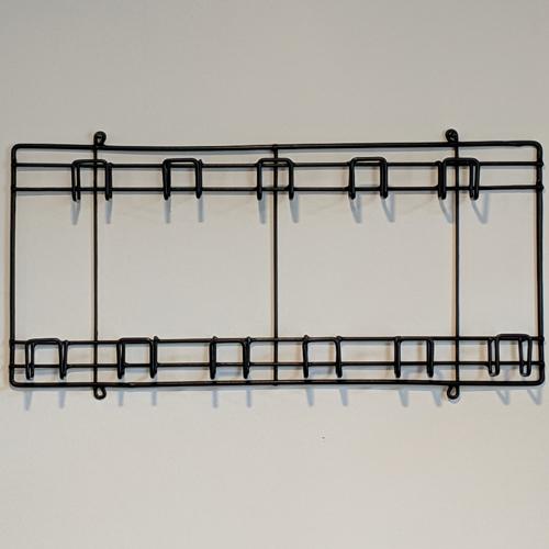 Cs/6 - Metal Tool Racks - Small 26-2/8 x 12 x 3