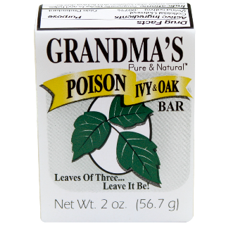 CS/12 - Grandma's Poison Ivy & Oak Bar 2oz