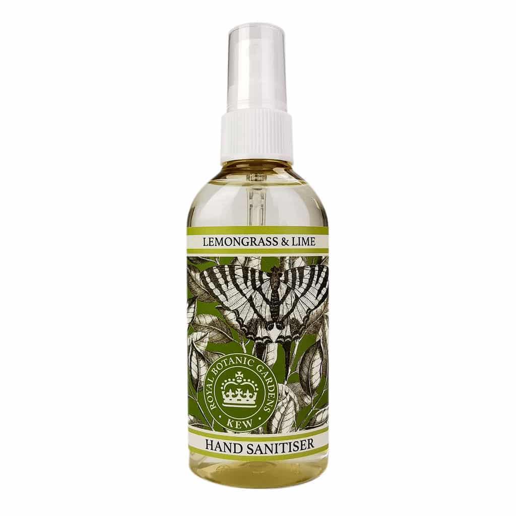 Cs/8 - Lemongrass & Lime Hand Sanitizer