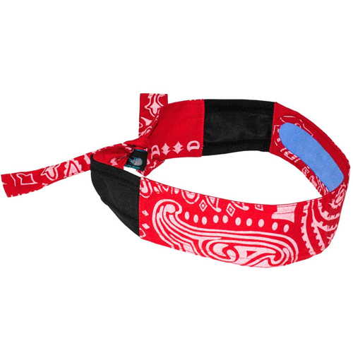 Cs/10 - Red Pattern Cooling Headband