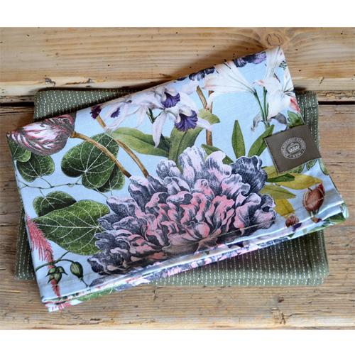 Cs/2 - Kew Bee Floral Tea Towel