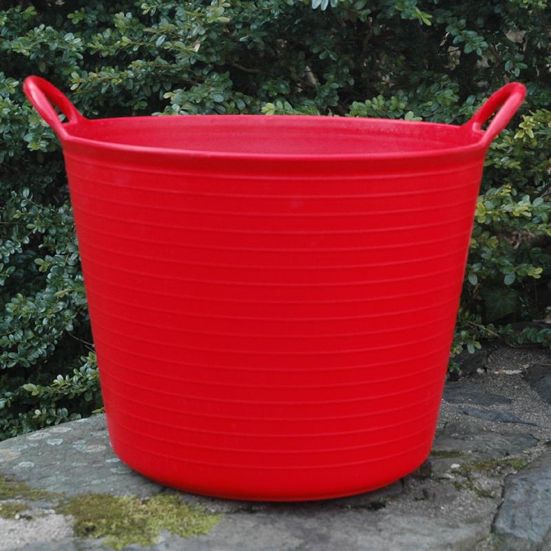 CS/5 SMALL RED TRUG TUB