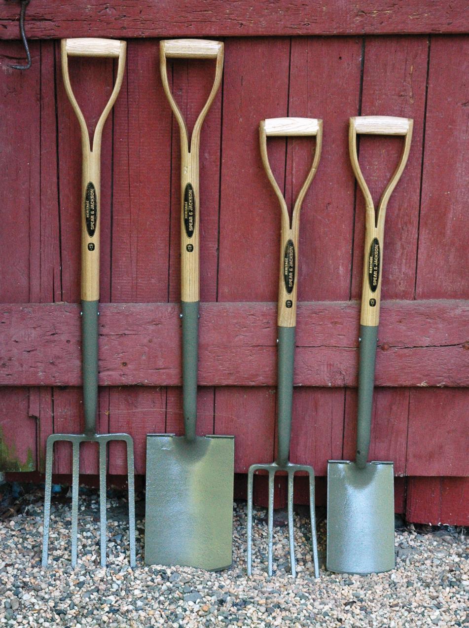 Carbon Steel Spades & Forks