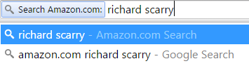 Searching Amazon.com for Richard Scarry
