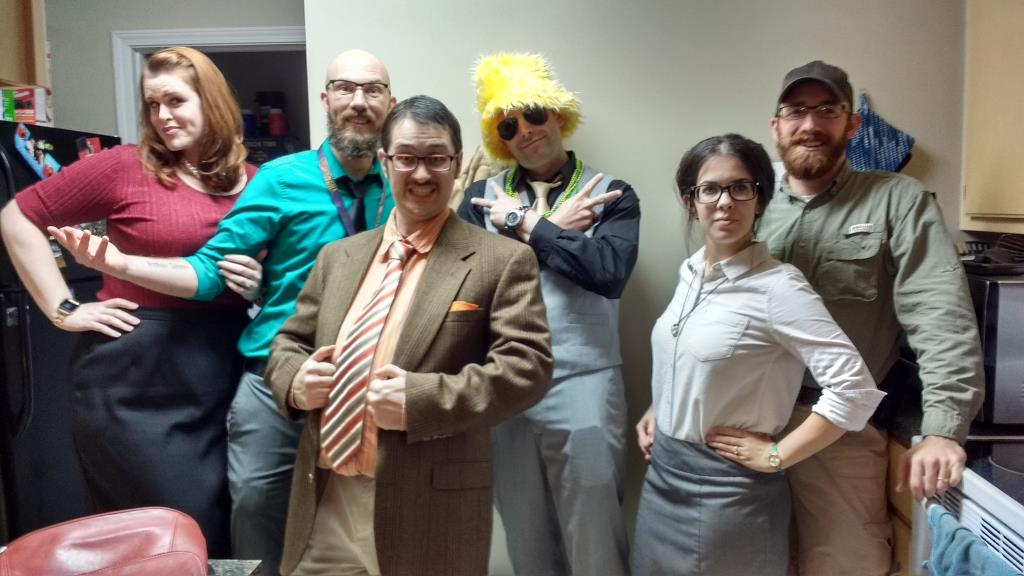 Murder Mystery Escape Room characters