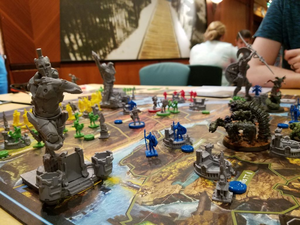 The board game Lords of Hellas