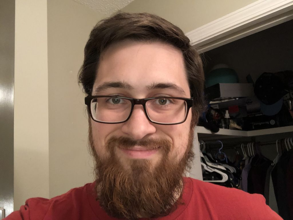 Brian with glasses and a long beard