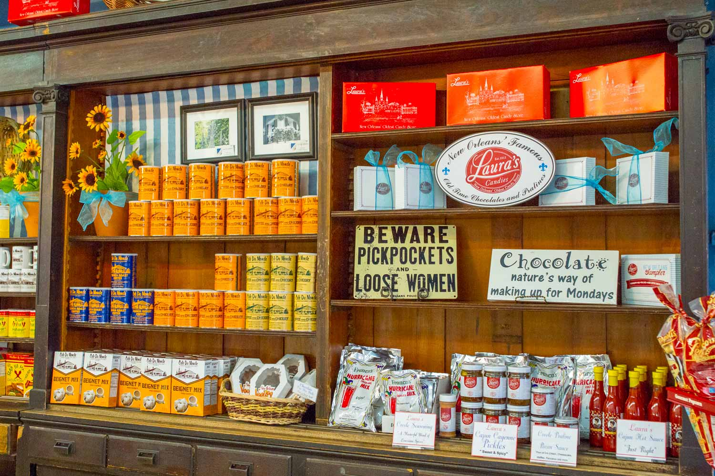 cupboard display inside store