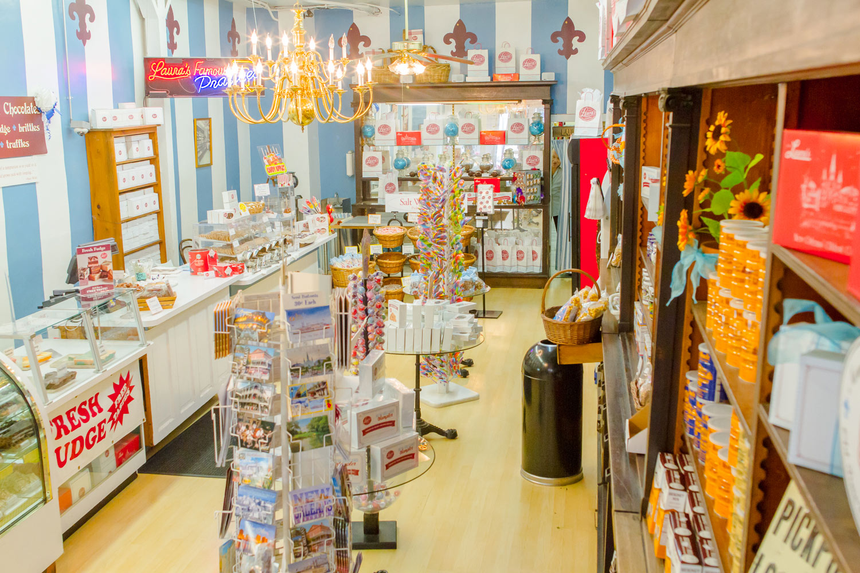 Laura's store inside