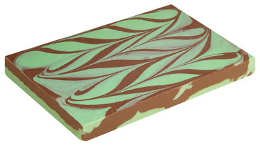Mint Chocolate Swirl Fudge