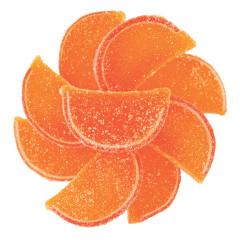 Sour Peach Fruit Jellies