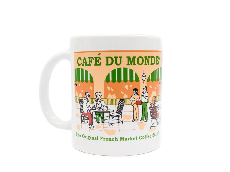 Cafe Du Monde Coffee Mug Art
