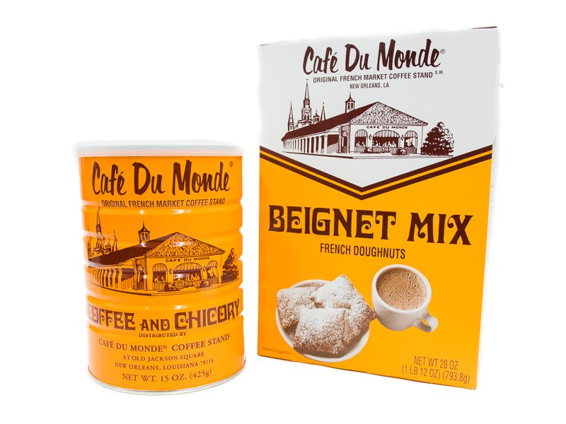 Combo - Cafe Du Monde Beignet Mix and Coffee & Chicory