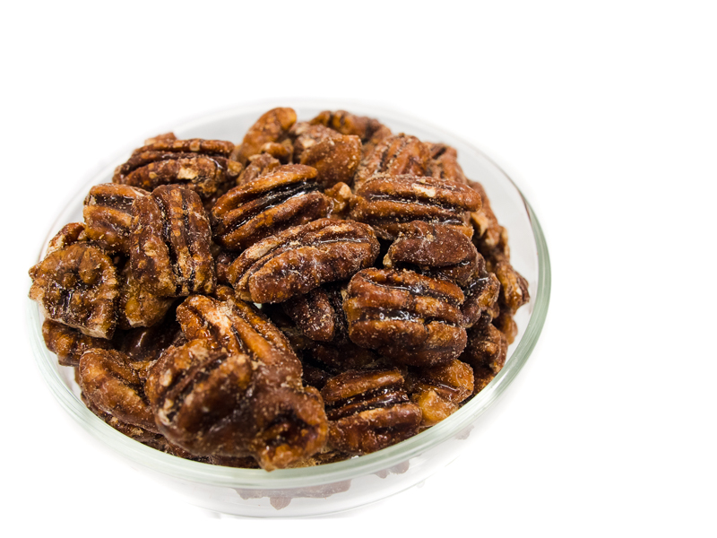 Laura's Sweet Glazed Pecans