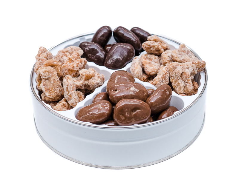 Laura's Pecan Sampler: Praline, Cinnamon, Milk & Dark Chocolate Pecans